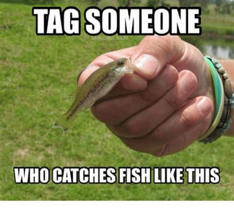Fishing For Likes Meme - tag someone who catches fish like this meme on sizzle