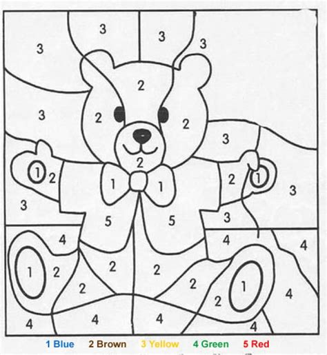 Number Coloring Pages For Toddlers numbers coloring pictures for