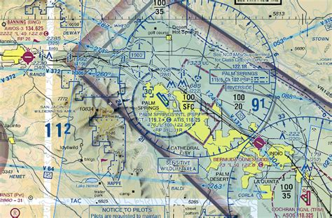 reading a sectional chart paraglide worldwide palm springs airspace