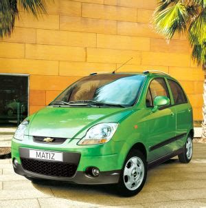 chevrolet matiz automatic specifications stats