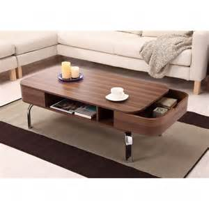 Contemporary Wooden Coffee Tables Contemporary Coffee Tables With Storage Using Polished