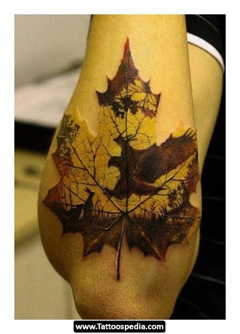 nature pattern tattoo awesome leaf nature tattoo tattoos pinterest geniale