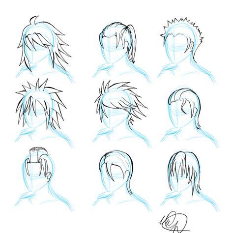 hairstyles anime male 50 anime male hairstyles ii by orangenuke short