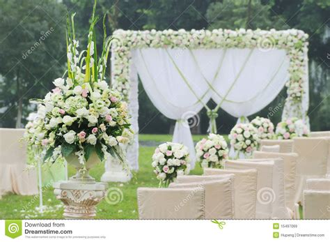 Cutlery Set With Stand wedding reception overview royalty free stock images