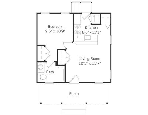 guest house floor plans 500 sq ft 287 best images about small space floor plans on pinterest