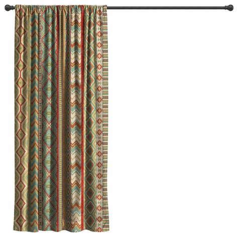 southwestern drapes curtains country mood sage room darkening window curtain