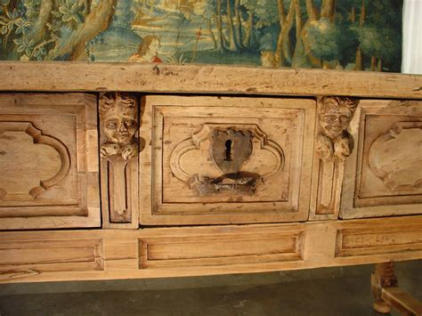 18th century woodworking 18th century stripped walnut wood table from italy at 1stdibs