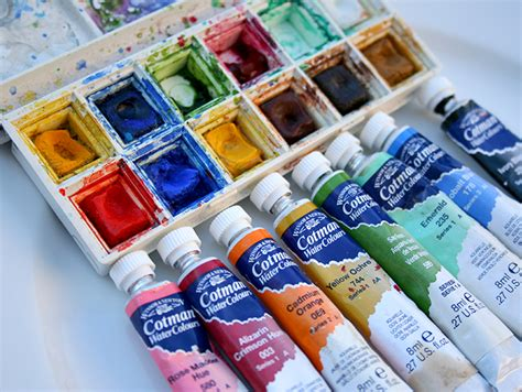 water color paints choosing watercolor paints in a vs in a pan