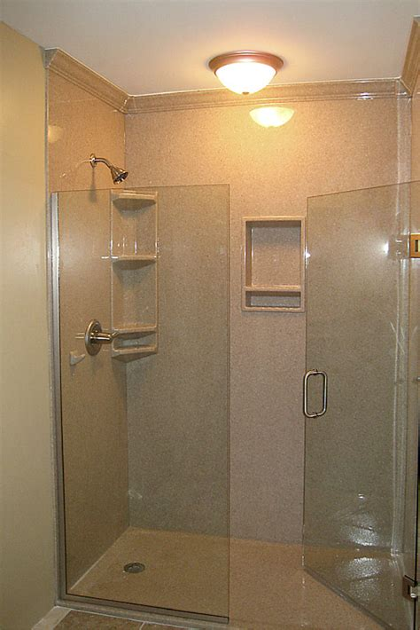 Shower Door Molding by 3 Steps To Add Trim And Borders To Diy Shower Wall Panels