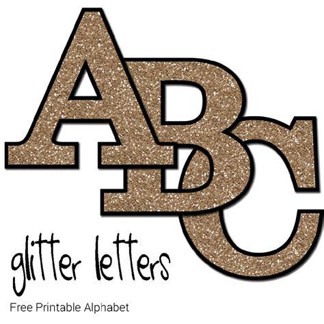lettere glitter free printable glitter letters make breaks