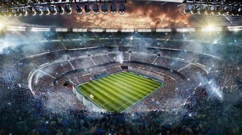 soccer stadium upper view windows  spotlight images