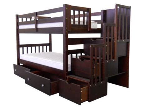 King Bunk Beds With Stairs 17 Best Images About Stairway Bunk Beds On Home And Gray