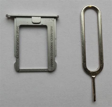 Sim Card Tray Slot Iphone 4 4g 4s 4 Cdma replacement for original micro sim card tray holder fits