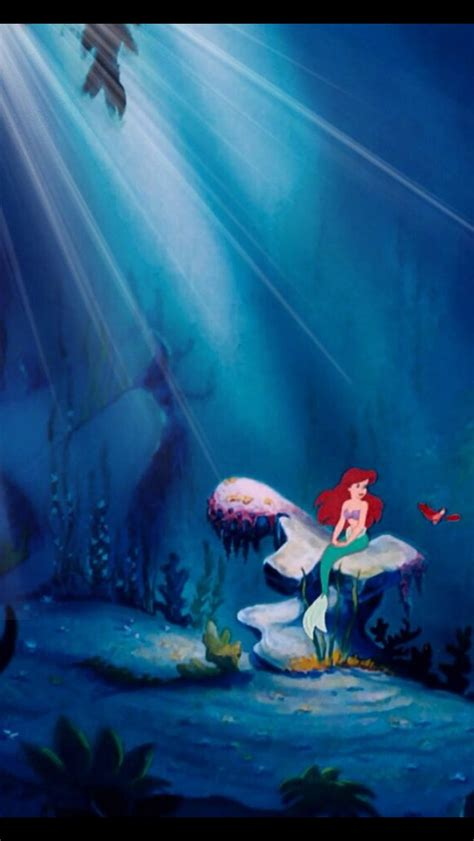 disney mermaid wallpaper little mermaid wallpaper iphone wallpapersafari