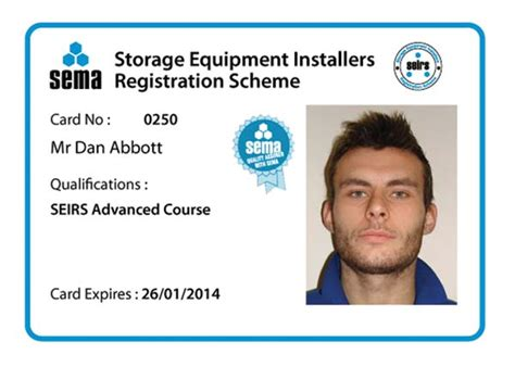 Contractor Id Card Template by Construction Industry Demands Seirs Trained Installers