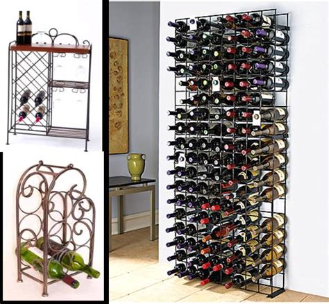 cool metal wine racks for with images 183 fire3fly