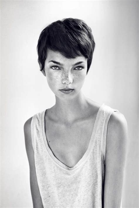 haircut photos freckles freckles hair and pixie cuts on pinterest