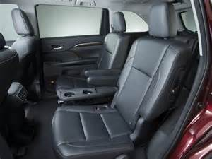 Toyota Highlander Captains Chairs Are The Second Row Captains Chairs In 2015 Highlander Xle