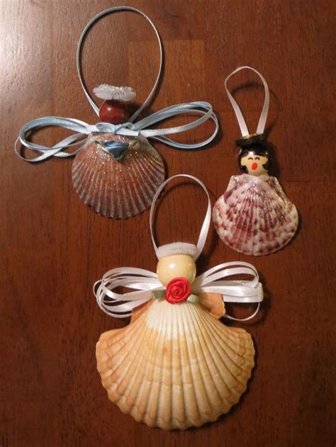 christmas crafts with seashells 171 beach treasures and