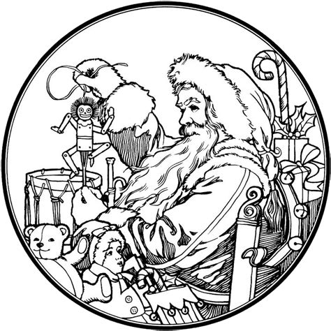 santa s view coloring book for everyone books retro coloring book coloring pages