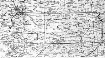 colorado kansas map kansas territory and its boundary question 3 kansas