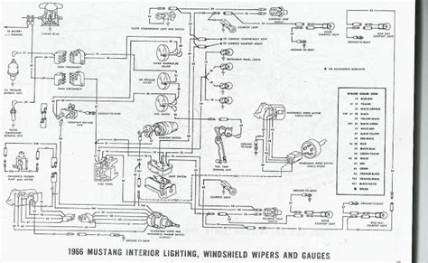 66 mustang wiring diagram wiring diagram and schematic