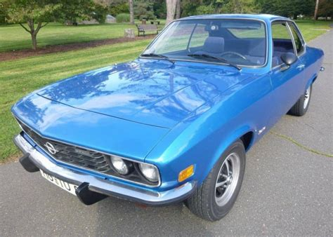 Hemmings Find Of The Day 1973 Opel Manta Luxus