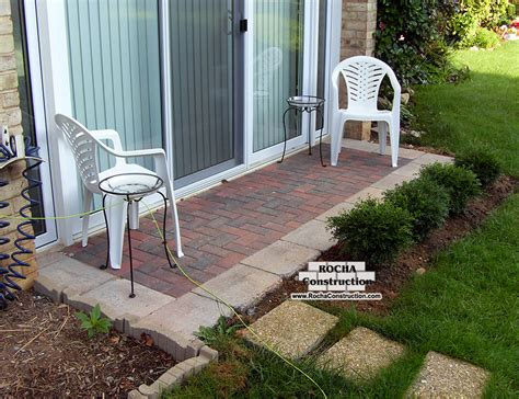 Small Paver Patio Small Paver Patio Designs Icamblog