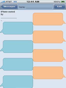 social media templates text messaging facebook