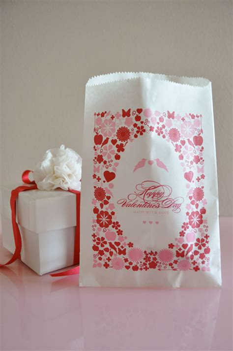 valentines bags free printable goodies