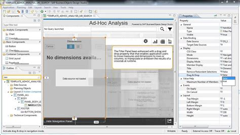 layout designer sap business one what s new in sap businessobjects design studio 1 4