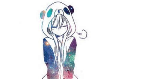 Galaxy Brown By Kawaii img anime galaxy anime