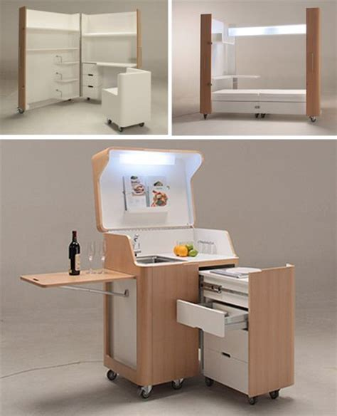 rooms on wheels mobile kitchen bedroom office spaces