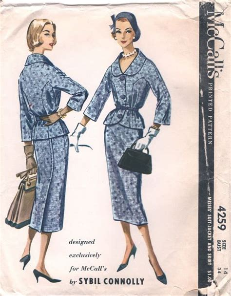 sewing patterns ireland 19 best middle aged women 1950s images on pinterest