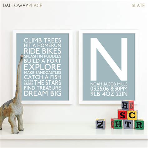 boy room wall decor baby boy boy nursery playroom subway baby