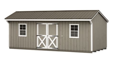 Tin Roofs For Sheds by Storage Shed Manor With Metal Roof