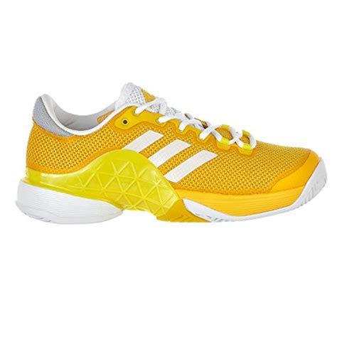 adidas s shoes barricade 2017 tennis equipment yellow white lemon peel 8 m us