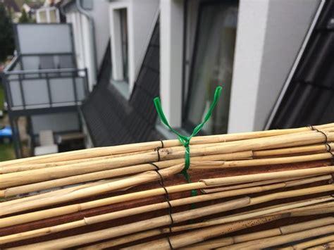 bambus auf dem balkon 4363 balkon sichtschutz aus bambus selber bauen anleitung mit