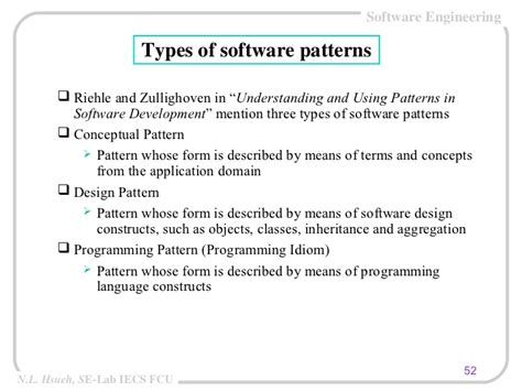 software design pattern categories architecture