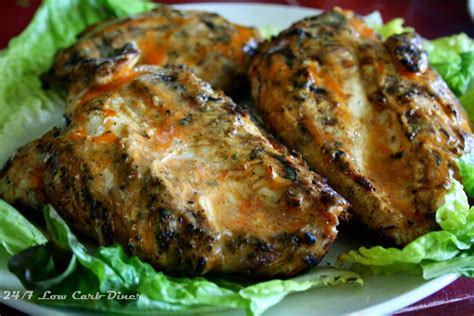 24 7 low carb diner buffalo grilled chicken breast