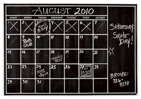 wall sticker calendar chalk calendar wall decal contemporary wall decals