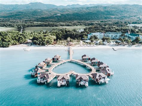 sandals south coast opens booking on overwater bungalows first impression of overwater bungalows at sandals south