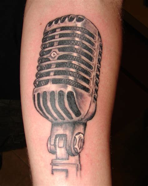 vintage microphone tattoo designs school microphone drawing wallpaper