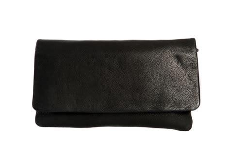 black leather clutch bag small shoulder handbag classic