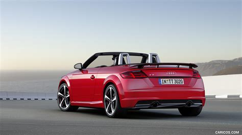 audi tt   competition roadster color tango red