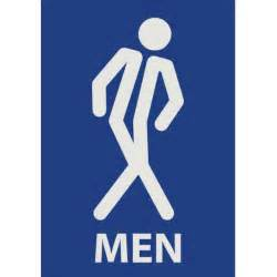 Mens Bathroom Sign Restroom Signs Men