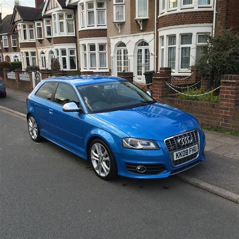 Audi S3 Sport by Audi S3 8p Kingfisher Blue Facelift Model Sport Net Bleu