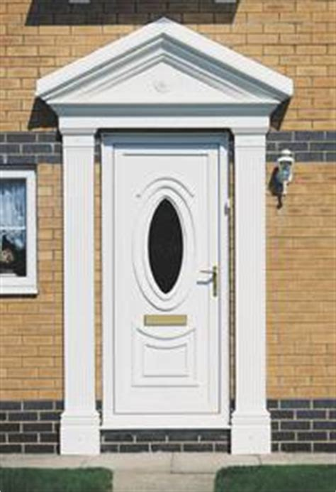Front Door Canopies With Pillars The Best Front Door Surrounds Vibrant Doors