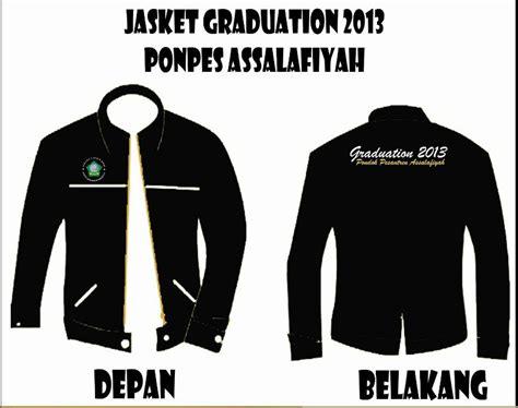 desain jaket semi formal desain almamater depan belakang dari konveksi lupic