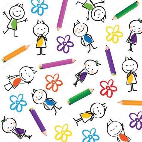 imagenes vectores infantiles fondo para ni 241 os vector de stock 42019923 depositphotos